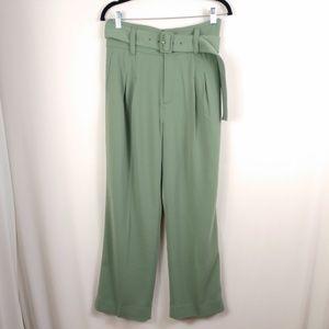 NWT Shopbop Paper Bag Pants Script Lucia High Rise